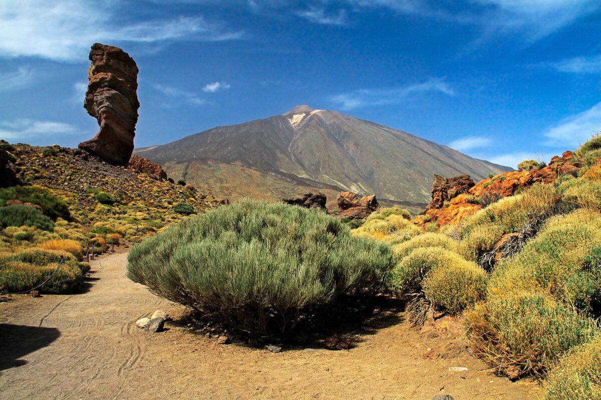 Patrimonio de la Humanidad en España: El Teide